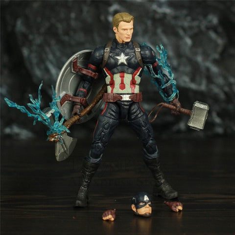 Avengers Endgame Captain America Action Figure