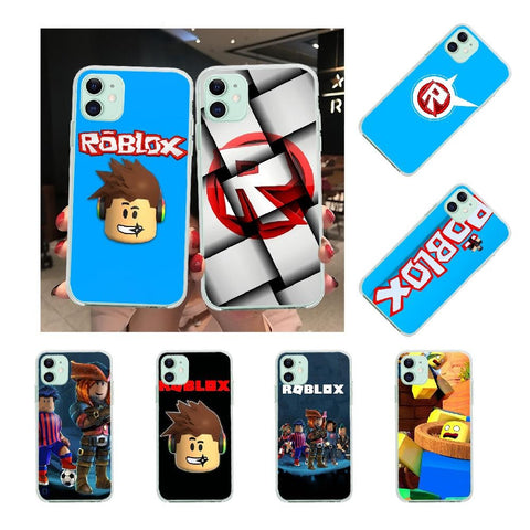 NBDRUICAI Popular Game Roblox Newly Arrived  Cell Phone Case for iPhone 11 pro XS MAX 8 7 6 6S Plus X 5S SE XR cover