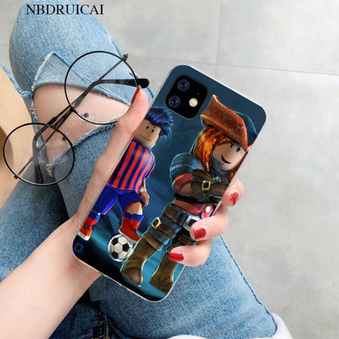 Roblox Iphone 66s Plus Case Customon Nbdruicai Popular Game Roblox Newly Arrived Cell Phone Case For Iphone Kid S Favorite Toys And Gifts Store