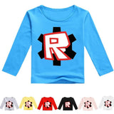 "Roblox Long Sleeve ""R"" Kid's Shirt"