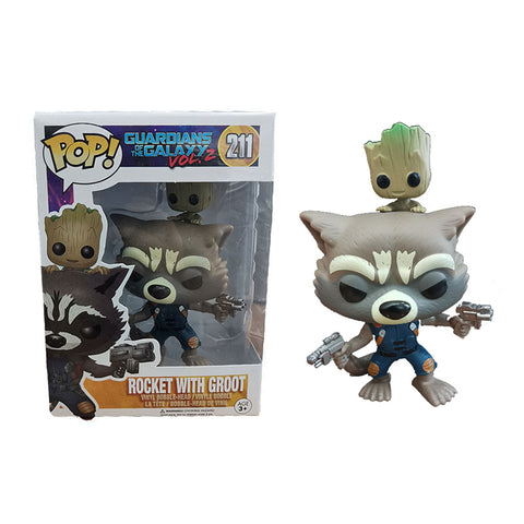 Rocket Raccoon & Groot Action Figures