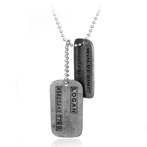 X-Men Origins Logan Dog Tags