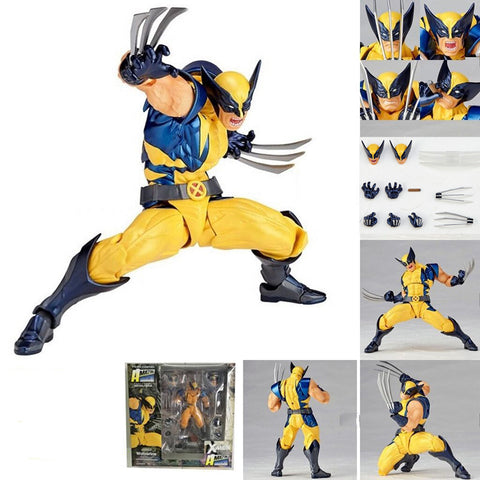 Retro Wolverine Action Figure