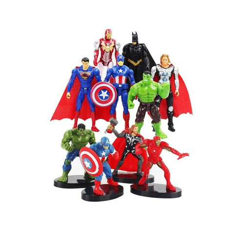 Superhero Figurine Set