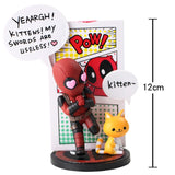 Avengers Deadpool Comedy Figurines