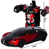 RC Cars Transformation Robot Car Toy