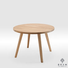 Round Dining Table With Oak Legs