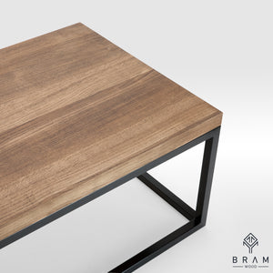 Minimal Design Oak Coffee Table