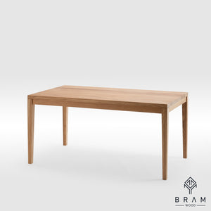 Classic Design Fully Oak Dining Table