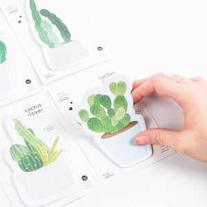 Cactus Love Series Sticky Notes By A Kawaii World