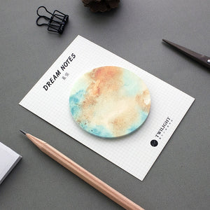 8 Designs Planet Sticky Notes By A Kawaii World