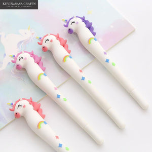 New Unicorn Gel Pen By A Kawaii World