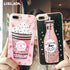 Glitter Bottle Quicksand Dynamic Phone Case By A Kawaii World