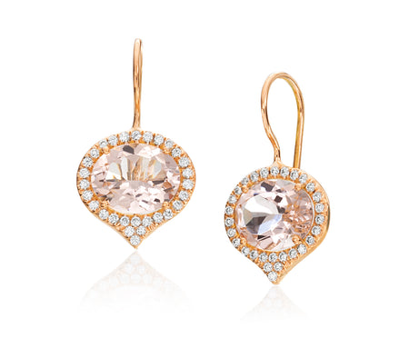 Jordan Morganite Earring