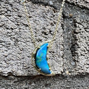 Geometric Mirror Cut Green Beryl Joyce Earrings