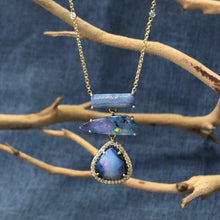 Vanessa Boulder Opal Necklace