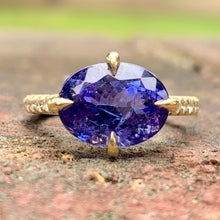 Trixie Tanzanite Ring