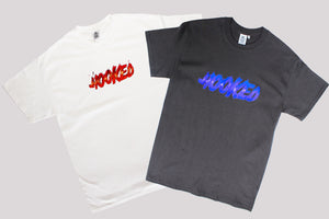 hooked fire tee