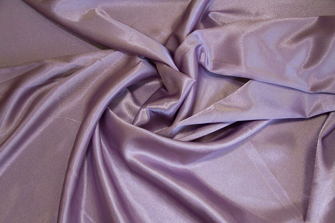 Dusty Lilac Crepe Back Satin - WHOLESALE FABRIC - 15 Yard Bolt