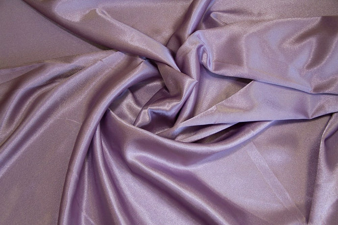 Dusty Lilac Crepe Back Satin Fabric