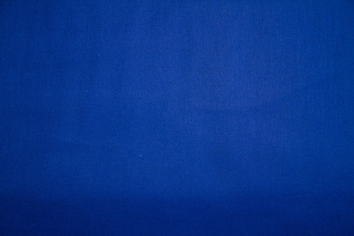 Royal Blue 100% Cotton Harvest Broadcloth