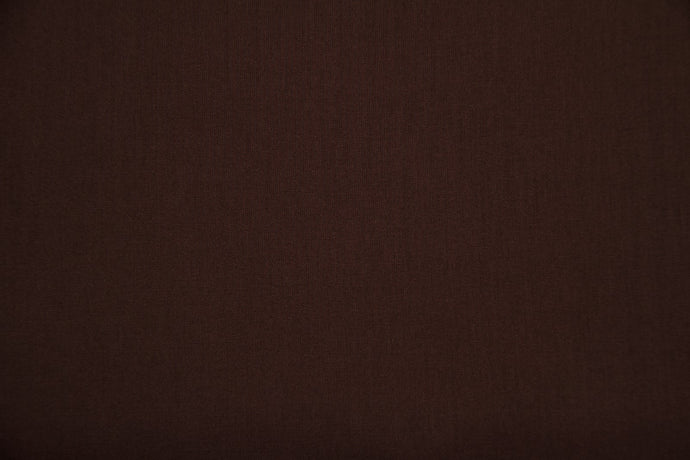 Brown 100% Cotton Carolina Broadcloth - WHOLESALE FABRIC - 20 Yard Bolt