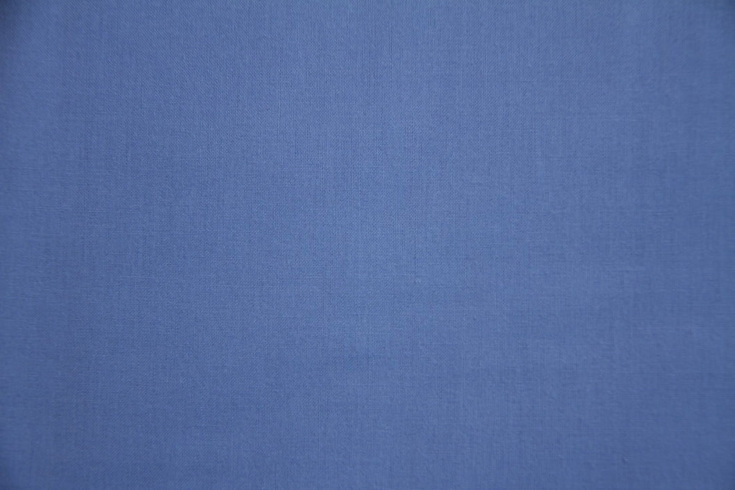 Periwinkle 100% Cotton Harvest Broadcloth - WHOLESALE FABRIC - 20 Yard Bolt