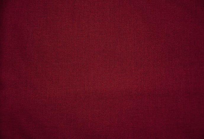 Burgundy 100% Cotton Carolina Broadcloth - By the Yard