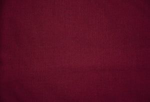 Claret 100% Cotton Carolina Broadcloth - By the Yard