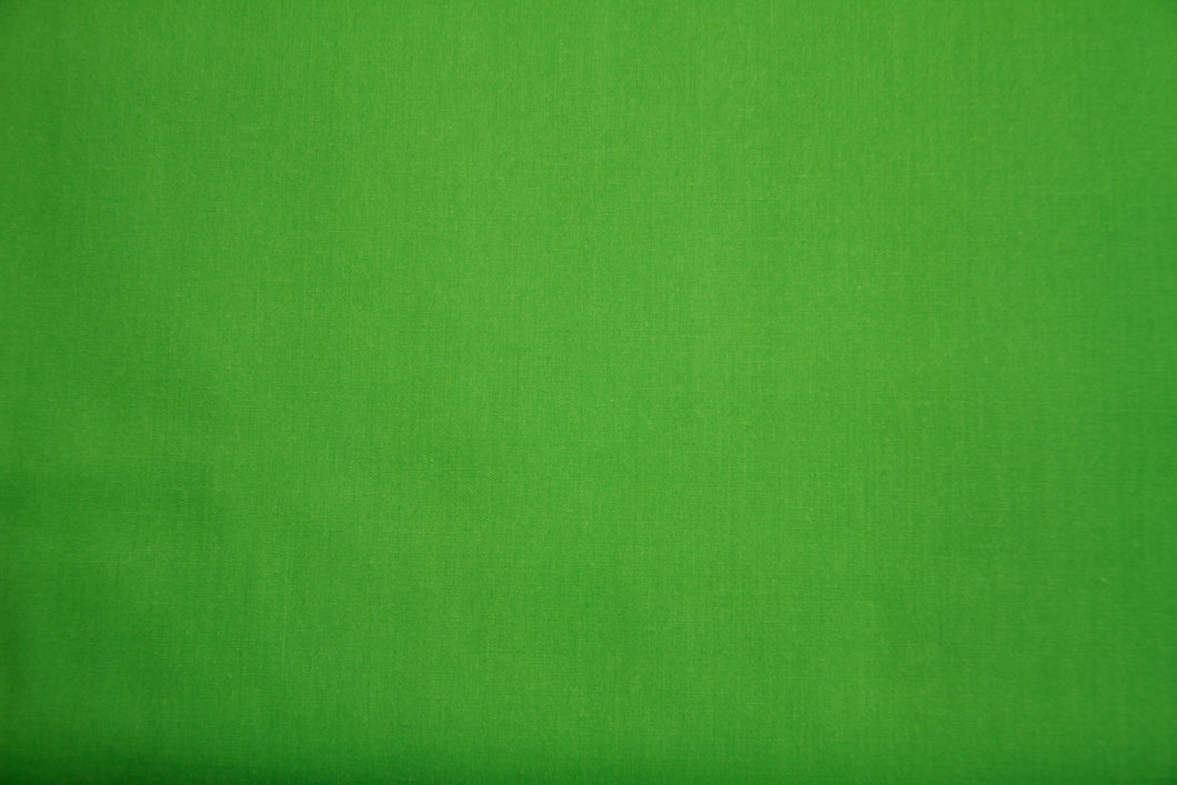 Emerald Polycotton Liberty Broadcloth - WHOLESALE FABRIC - 20 Yard Bolt