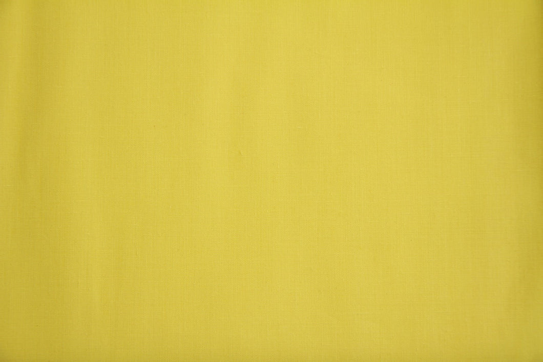 Yellow Polycotton Liberty Broadcloth - WHOLESALE FABRIC - 20 Yard Bolt