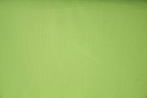 Lime Polycotton Liberty Broadcloth