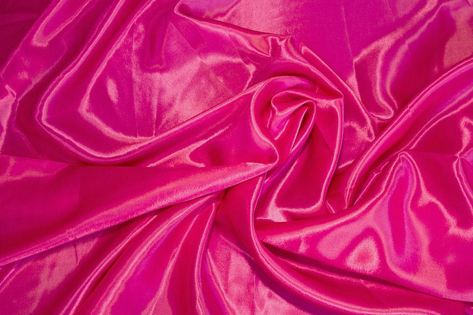 Fuchsia Charmeuse Satin--WHOLESALE FABRIC--15 Yard Bolt