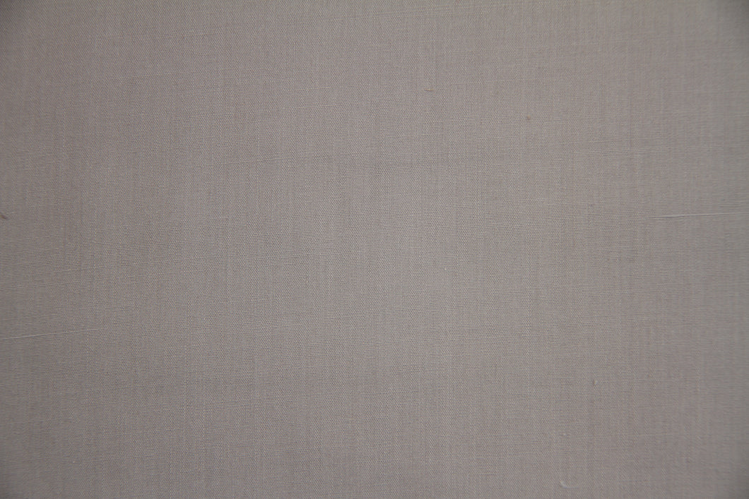 Silver 100% Cotton Carolina Broadcloth - By the Yard