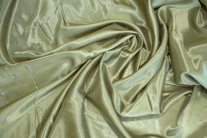 Light Sage Charmeuse Satin--WHOLESALE FABRIC--15 Yard Bolt