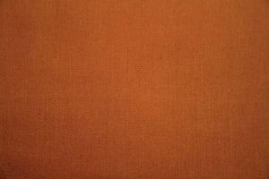 Rust 100% Cotton Carolina Broadcloth - By the Yard