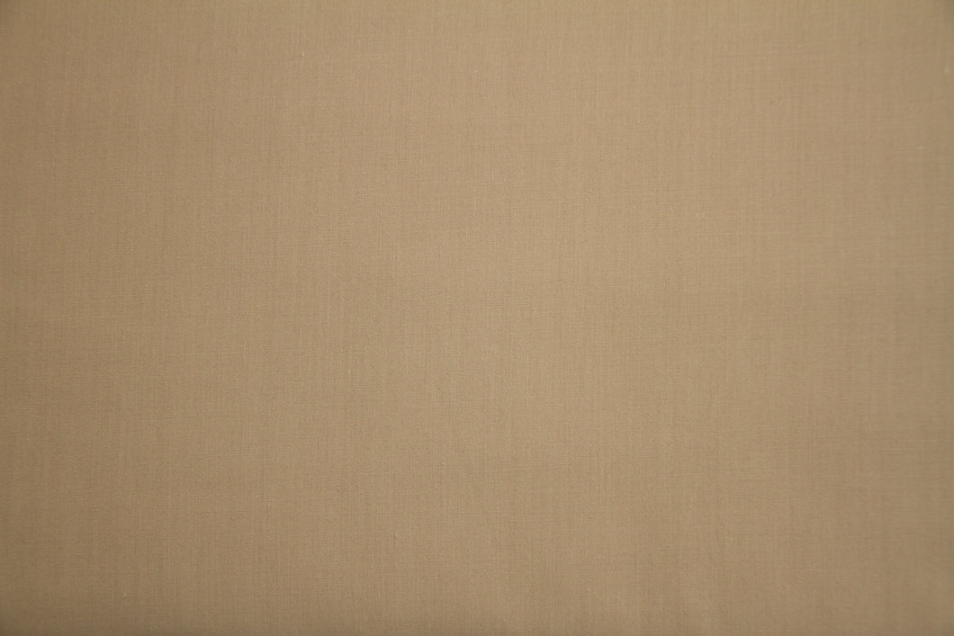 Khaki Polycotton Liberty Broadcloth - WHOLESALE FABRIC - 20 Yard Bolt