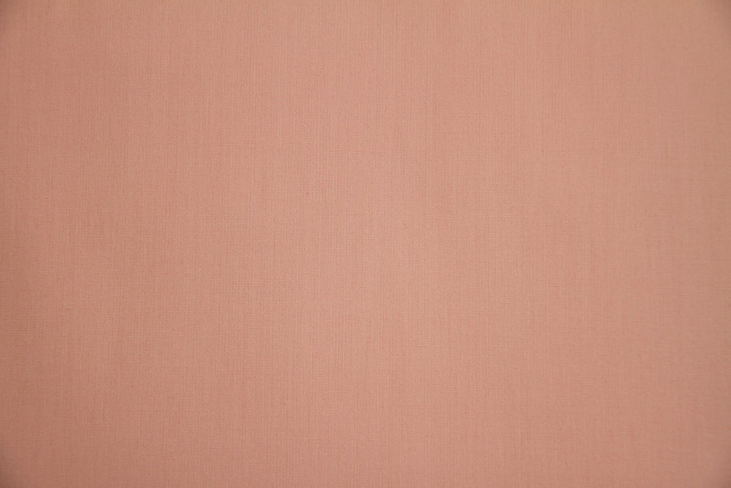Peach Polycotton Liberty Broadcloth - WHOLESALE FABRIC - 20 Yard Bolt