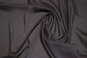Black Two Tone Chiffon Fabric