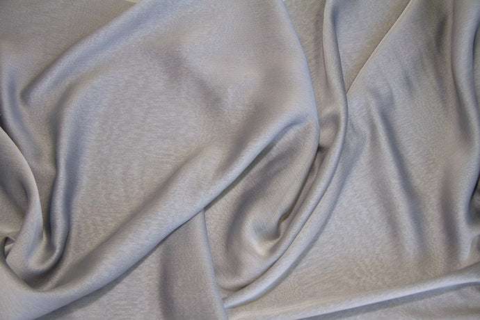 Silver Two Tone Chiffon - WHOLESALE FABRIC - 15 Yard Bolt