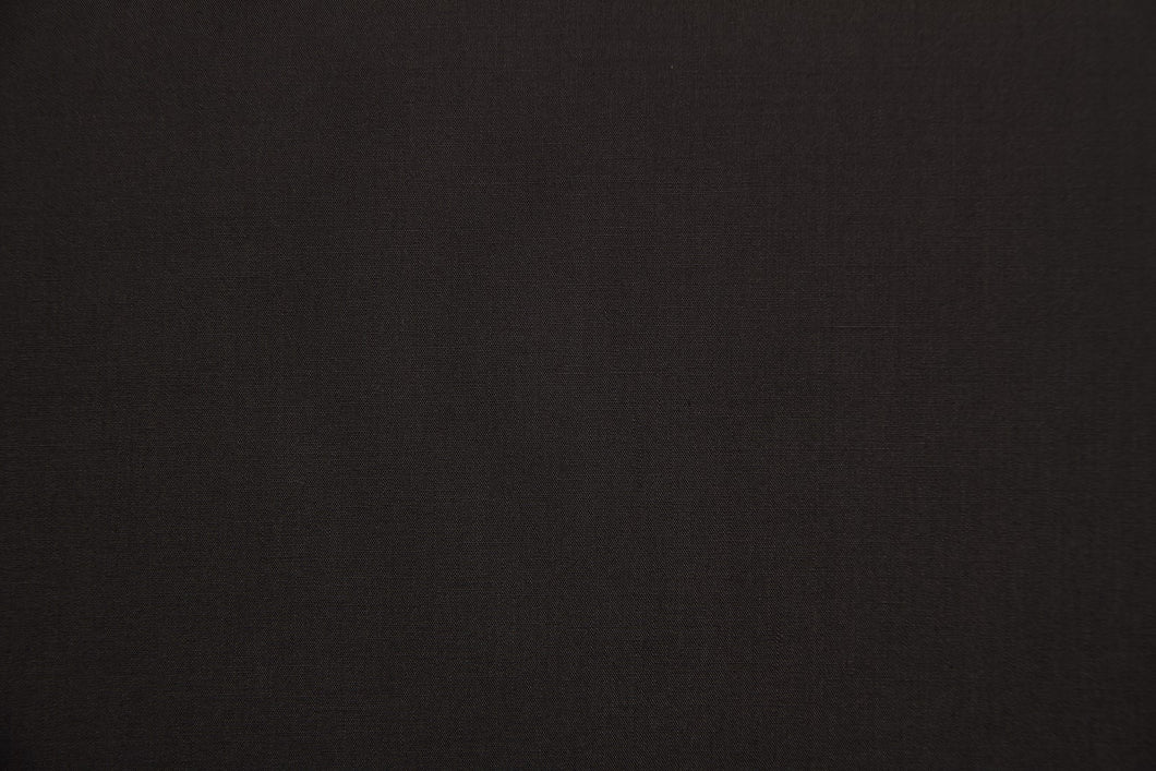 Dark Gray Polycotton Liberty Broadcloth