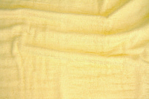 Maize Terry Cloth Fabric