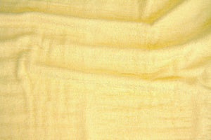 Maize Terry Cloth-WHOLESALE FABRIC- 15 Yard Bolt