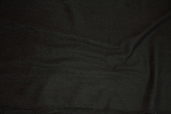 Black Terry Cloth - WHOLESALE FABRIC - 15 Yard Bolt