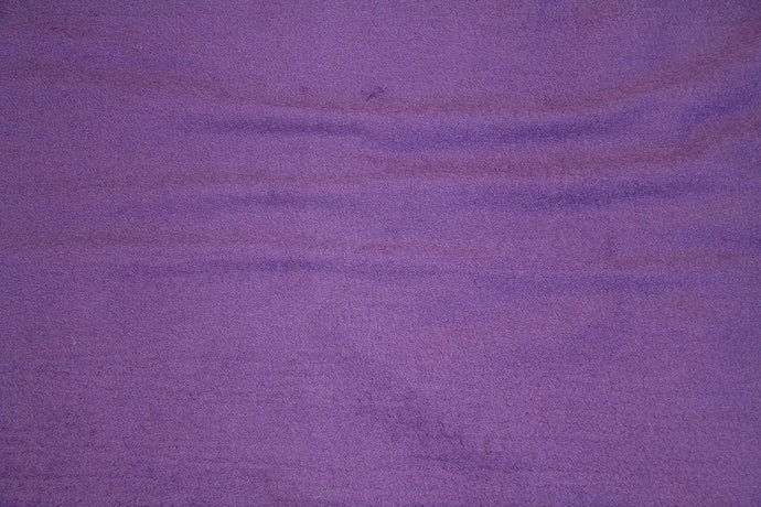 Purple Terry Cloth - WHOLESALE FABRIC - 15 Yard Bolt