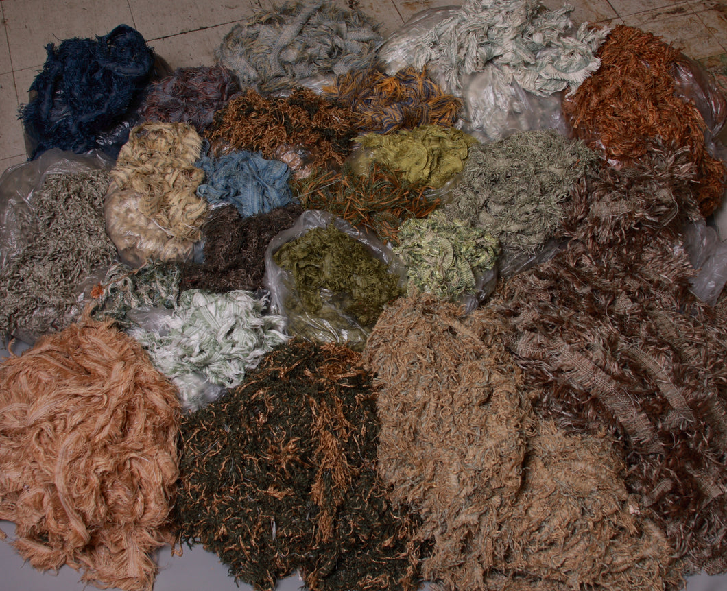 Blues, Greens, Gold & Honey 60 pound Trimmings Pack