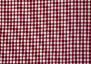 "1/4"" Berry Gingham Fabric"