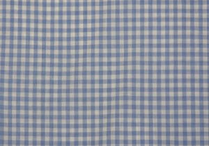 "1/4"" Blue Gingham - WHOLESALE FABRIC - 20 Yard Bolt"