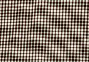 "1/4"" Brown Gingham - WHOLESALE FABRIC - 20 Yard Bolt"