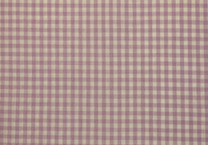 "1/4"" Lilac Gingham Fabric"